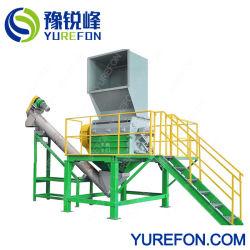 Potente máquina de reciclagem de plástico grande tambor de PE de HDPE Triturador de caçamba do Canhão