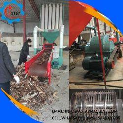 Отходы древесины указателей поворота и биомассы переломов оборудование для мобильных ПК Дробильная установка для продажи