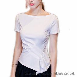 Mode coton personnalisé de gros de bonne qualité pour hommes Vêtement de sport Vêtements d'usure T Shirt vêtements avec de l'impression