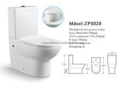 Articoli sanitari di ceramica di sciaquata della toletta della stanza da bagno di Siphonic di qualità di impulso di promozione