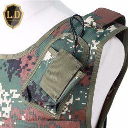 Vest van de Camouflage van het Kogelvrije vest van Molle van de douane het Tactische