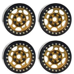 """1/10 1,9"""" Beadlock Aros de roda para o controle remoto Carro de Esteiras de rocha RC Car"""
