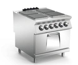 Edelstahl-westliche Art elektrischer Multi-Brenner Ofen