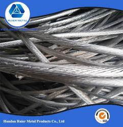 99.99% pur fil en aluminium de qualité en aluminium/Rebut 6063/aluminium/aluminium de l'UBC