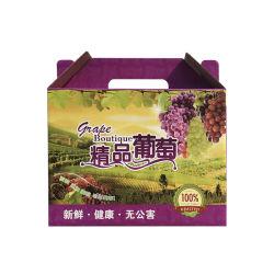 Trauben-Frucht-verpackender Papierkarton