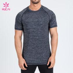 맞춤형 스포츠웨어 남성용 드라이 핏 폴리에스테르 티셔츠