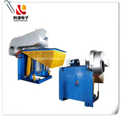 Het Verwarmen van het Metaal van de inductie de Smeltende Gietende Oven van de Thermische behandeling van de Uitsmelting van het Smeedstuk Elektronische