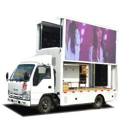 P4 P5 P6の段階が付いているトラックを広告する屋外の移動式フルカラーの表示画面LED