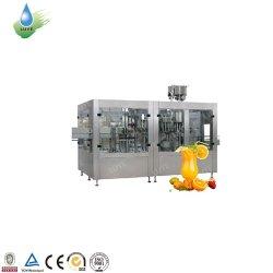 자동 소형 PET 병 무균 핫 주스 음료 에너지 음료 소다 스파클링 물 CSD 탄산음료 보틀링 필러 충전 공장 포장