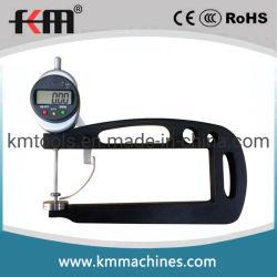 Customized 0-50mm/0-2'' digital medidor de espessura com 200mm de profundidade de medição