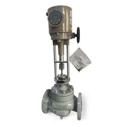 Электрический земного шара тип клапана управления A216 WCB Органа