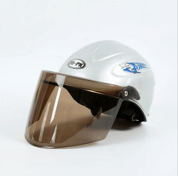 Preiswerter Preis-Motorrad-Roller-elektrischer Fahrrad-Sturzhelm-halber Gesichts-Sturzhelm-Unisexsommer-Sturzhelm