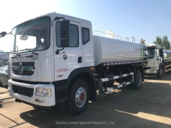 De Uitstekende kwaliteit van de Uitvoer van Bowser van het Water van de Tankwagen van het Water van de Vrachtwagen van de Sproeier van het Water 15000L van de Liter 12000L van Dongfeng LHD/Rhd 4X2 10000