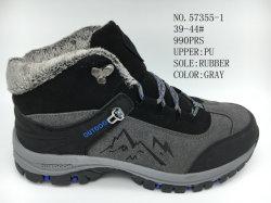 Los hombres invierno zapatos con algodón en el interior