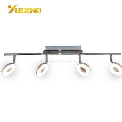 Círculo de montaje en superficie COB 20W plancha de aluminio cromado Ce RoHS Spotlight vía la Caja de luz LED