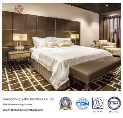 Mobilia laminata della camera da letto dell'hotel di rivestimento con il disegno di merce (YB-812-1)