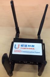 Coche industriales WiFi inalámbrica 4G LTE M2m Router con ranura para tarjetas SIM
