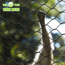 Cable de acero inoxidable AISI304/316 Cuerda para Zoo de malla malla Alojamiento / Malla de baranda de balcón