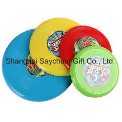 Frisbee-Fliegen-Platten-Fliegensaucer-im Freienfreizeit