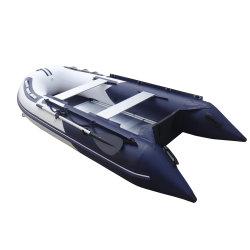 2.5m 2.7m 3m 3.3m 3.6m 3.8m Belüftung-aufblasbares Sport-Fischen/laufende Boote mit Aluminiumfußboden