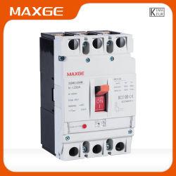 De Elektrische Stroomonderbreker 100-250A van Maxge Sgm3-250