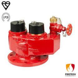2 способов/4 способа подвода Breeching с Bsi Kitemark Lpcb утвержденных/пожарных гидрантов