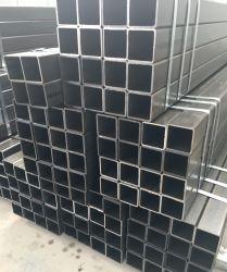 Carrées et rectangulaires section creuse du tuyau de tubes en acier carré