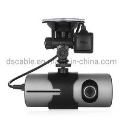 Lente dupla câmara HD GPS Car DVR Gravador de vídeo do came DO PAINEL G-sensor com visão nocturna