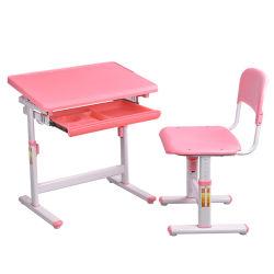 Mobilia ergonomica del bambino della Tabella dei bambini del tubo d'acciaio dell'azzurro di cielo
