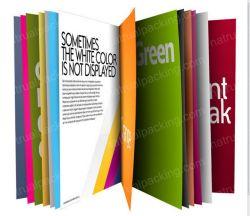 Folheto feito sob encomenda da impressão, compartimento, livro de coloração, impressão do folheto em China