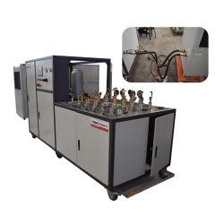 O MGS calculador e a pressão do óleo hidráulico da máquina de teste de pulso