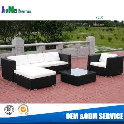 Jardin meubles de patio populaires canapé de coupe en rotin (8201-47ensembles/40'HQ)