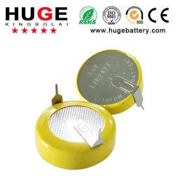 3.6V Batterij Lir2477 van de Cel van de Knoop van het lithium de Navulbare