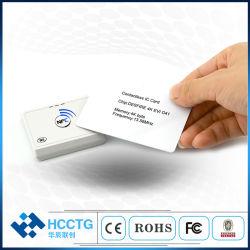 13.56 ميغاهرتز Android iOS Smart Card رخيصة، وNFC محمولة قارئ Bluetooth (ACR1311U-N2)