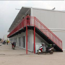 Fabrik-Zoll 40 Fußboden des Fuss-Lager-Behälter-Haus-schnelle Montage-beweglicher Flachgehäuse-Behälter-Haus-2