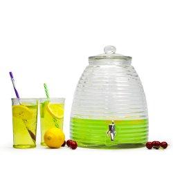 Популярные конусообразный фильтр для напитков из стекла с металлической подставки