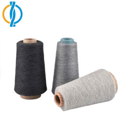 Fabrico profissional de fios de algodão a fita de algodão Cone de fios de extremidade aberta de poliésteres