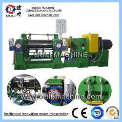 Type de roulement deux rouleaux en caoutchouc de mélange ouvert Mill Machine, deux rouleaux de roulement à rouleaux