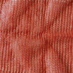 Landwirtschaftlicher gestrickter purpurroter Raschel Ineinander greifen-Röhrenbeutel für Verpackungs-Frucht