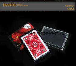 카지노 100% 플라스틱 PVC 포커 플레이 카드