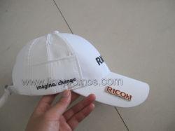Ricohのロゴによって決め付けられる昇進のギフトのゴルフは帽子を遊ばす