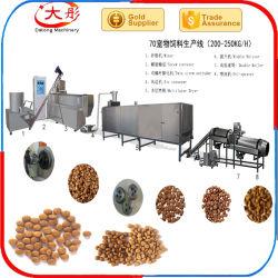 Alimento di cane caldo dell'animale domestico di vendita che fa la linea di trasformazione della macchina