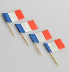 De nouveaux drapeaux en papier populaire cure-dents