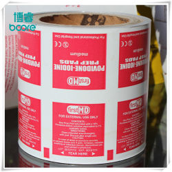 Las materias primas de papel de aluminio para helados mangas