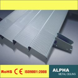 알루미늄 84r Perforated Metal C Shaped Plain Strip Exterior Sun 셔터셰이드 루브르