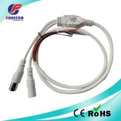 De witte Kabel van de Controle van de Camera OSD Audio Video (pH6-1605)