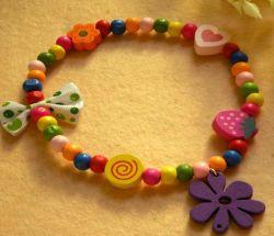 かわいいキャンデーの花ペットネックレス