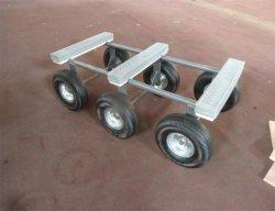 Seis Painel Roda plataforma móvel do veículo de reboque