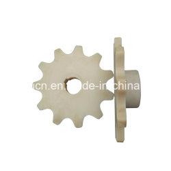 Types de composants de la machine POM en plastique/nylon roue double dent de pignon à denture hélicoïdale