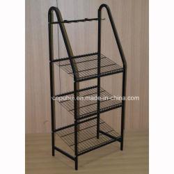 3 niveaux de la courroie de vente au détail de Rack métalliques Stand (PHY3018)
